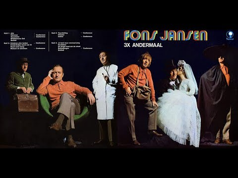 Titel: Fons Jansen 1968 3x Andermaal Tv Co