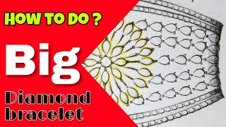 Broad Bracelet 3 | Step by Step Hindi Explain | Jewellery Design