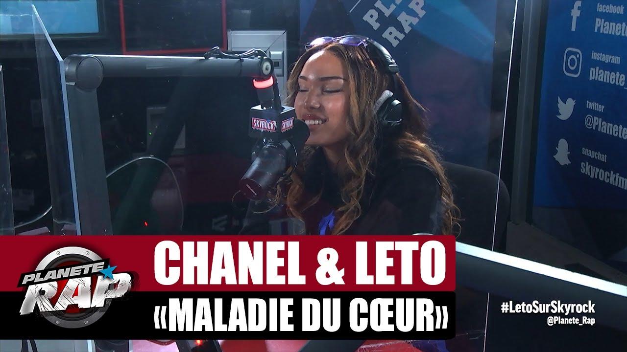 """Chanel feat. Leto """"Maladie du cœur"""" #PlanèteRap"""