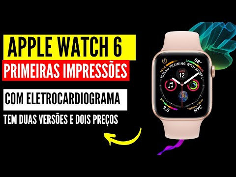 Apple Watch 6 Estas são as novas Funcionalidades