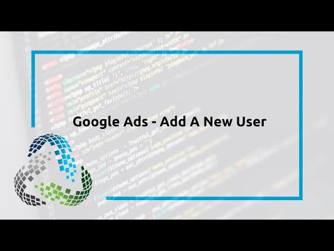 Google Ads – Add A New User