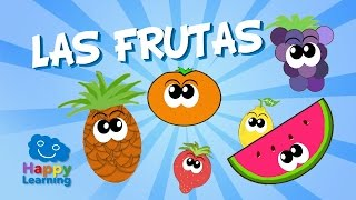 Fruits in Spanish for Children