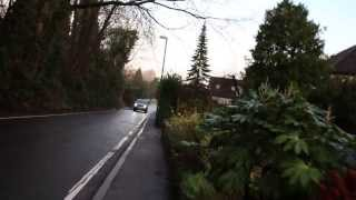 preview picture of video 'Pedestrian view walking North along Brittans Lane'