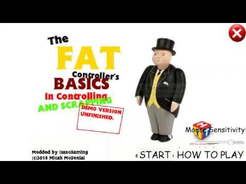The Fat Controller plays Baldi's Basics - смотреть онлайн на