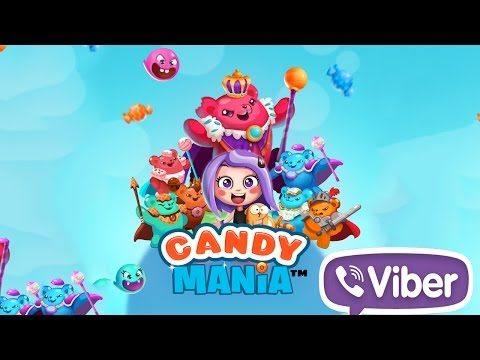 Viber Candy Mania wideo
