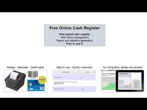 Video of Cash register for Sales points