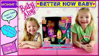 BABY ALIVE Better Now Baby Doll Goes to the Doctor