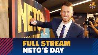FULL STREAM | Neto's Presentation At Camp Nou
