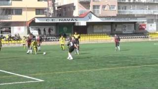 preview picture of video 'futbol 7  c.e.Navàs b & Gironella  t/2010-11 resum partit'