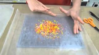 Crankin Out Crafts -ep177 Crayon Leaves
