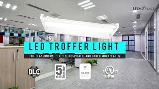 Best LED Troffer Lights on Sale