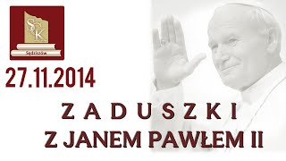 preview picture of video 'Zaduszki z Janem Pawłem II - Sędziszów 27.11.2014'