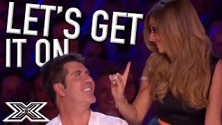 Cheryl TEASES Simon Cowell during AMAZING Audition | X Factor Global
