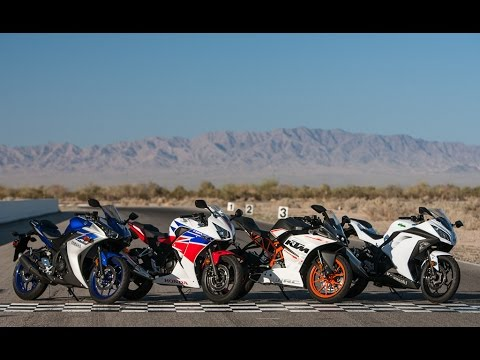 2015 Beginner-ish Sportbike Shootout