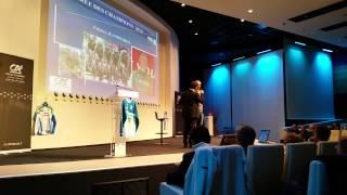 preview picture of video 'Fabrice Jeandesboz ( Team Europcar) à la soirée des Champions 22 à Ploufragan !'