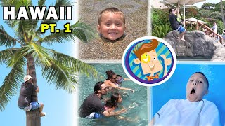 FV Family Trip Vlog in Hawaii: Water Elevator in Grand Wailea (Maui Part 1)