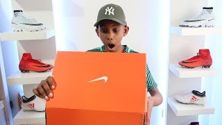 UNBOXING MY MOST EXPENSIVE PAIR OF FOOTBALL BOOTS / CLEATS  | KAILEM