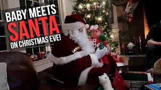 Baby Meets Santa On Christmas Eve!   Vlog 2024