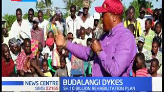 National Government  set to rehabilitate  and strengthen Budalangi dykes along R. Nzoia