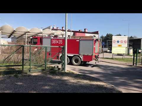 Wideo1: Akcja pożarnicza w Trzebani