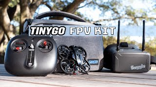 Ready To Fly FPV Kit - TinyGO from GEPRC With 4K Caddx Camera - Full Review (2021)