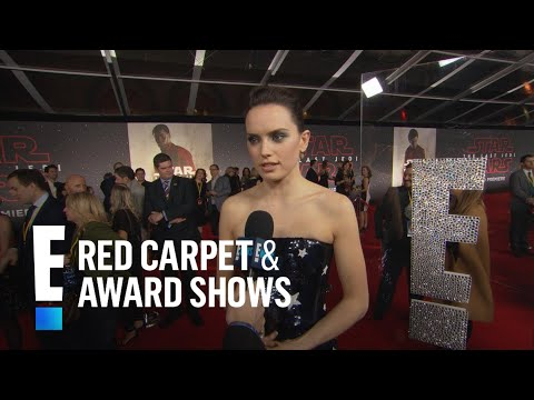 Daisy Ridley Ribs John Boyega for Almost Missing Premiere | E! Live from the Red Carpet