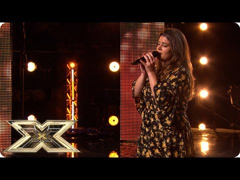 Louise Setara cleans up in her X Factor Audition! | Auditions Week 4 | The X Factor UK 2018 (видео)