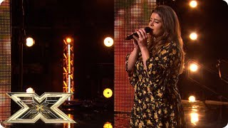 Louise Setara cleans up in her X Factor Audition!   Auditions Week 4   The X Factor UK 2018