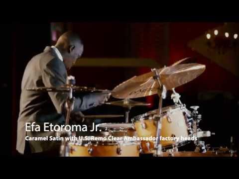 Efa Etoroma Jr. x Yamaha Tour Custom Drums