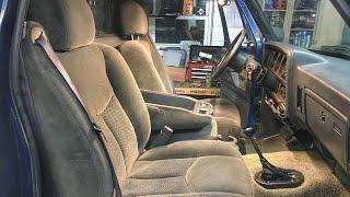 First Gen Cummins Chevy 1500 Seat Swap!