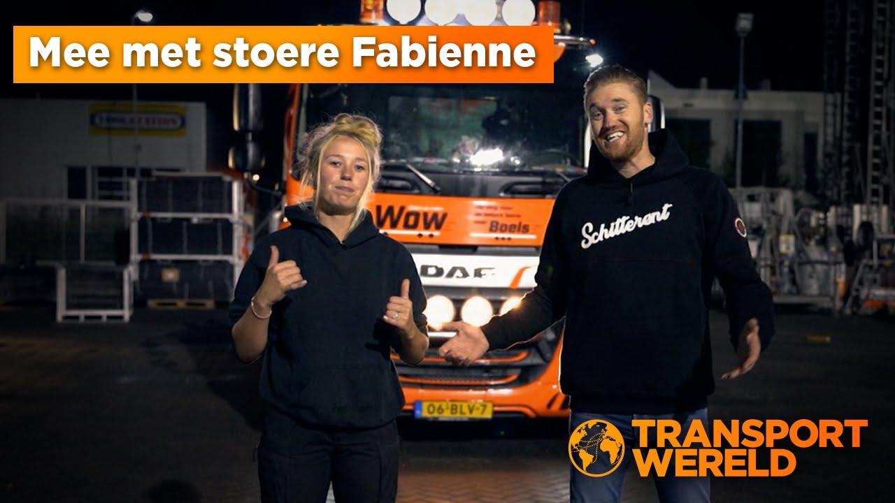Martijn Kuipers op pad met stoere Fabienne!