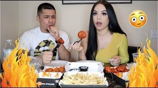 WE TRIED THE  HOTTEST WINGS EVER! *NEVER AGAIN* 🥵