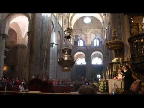 Santiago de Compostela, Служба для палом