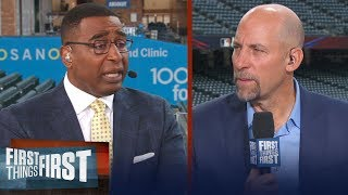 John Smoltz talks Vlad Guerrero Jr's home run derby, MLB All-Star game & more | FIRST THINGS FIRST