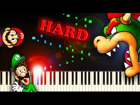 In The Final (from Mario & Luigi: Bowser's Inside Story) - Piano Tutorial