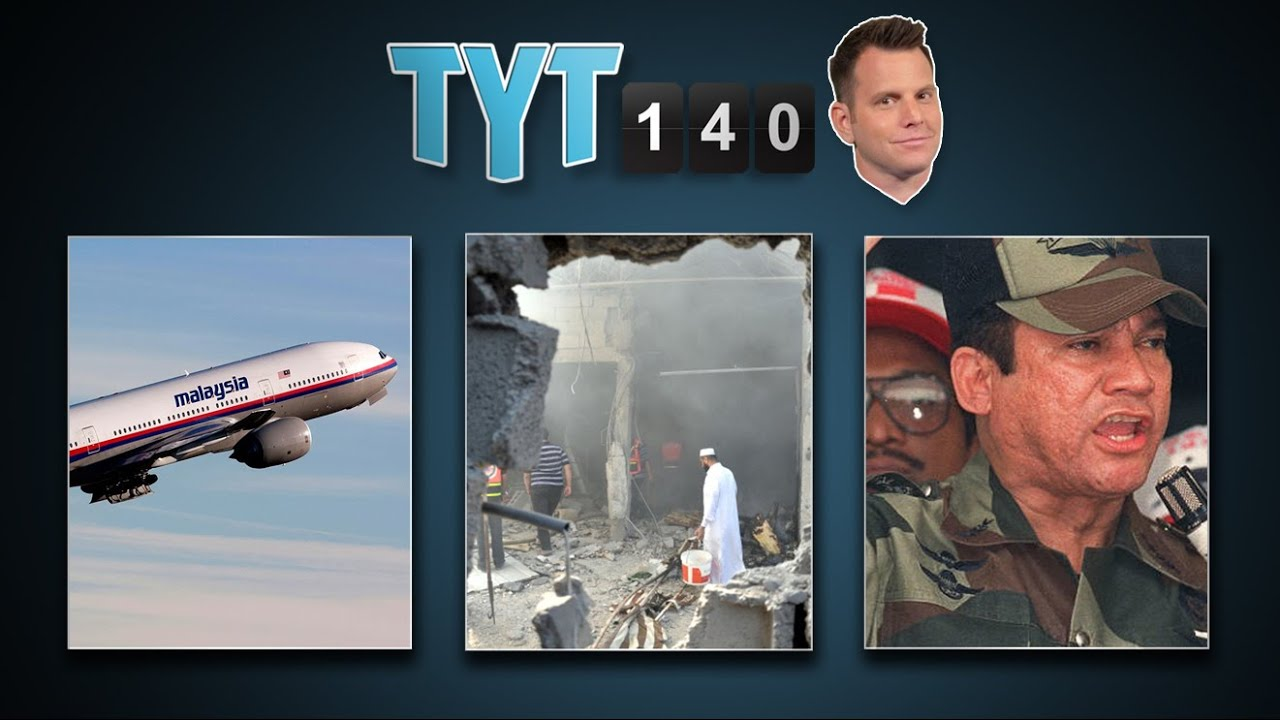 Malaysian Crash, Microsoft Layoffs, Gaza Invasion, CDC Woes & Noriega Sues | TYT140 (July 17, 2014) thumbnail