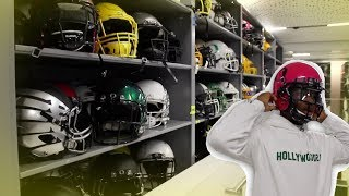 OREGON HAS SO MANY HELMETS IN THEIR EQUIPMENT ROOM / Tour with Texafornia
