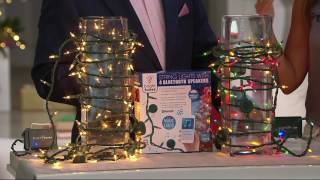 Bright Tunes Indoor/Outdoor 26' Bluetooth Light Strand with Speakers on QVC