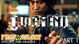 Judgment - The Dojo (Let's Play) - Part 1