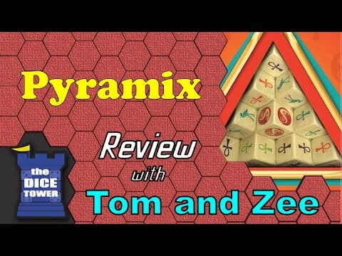 Dice Tower Reviews: Pyramix (with Zee Garcia)
