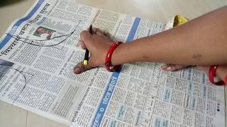 34 inch' katori blouse cutting / Making Katori Blouse in hindi