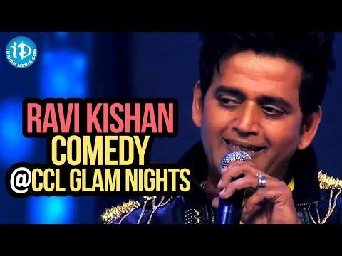Ravi Kishan Comedy with his Team Bhojpuri Dabanggs @CCL Glam Nights