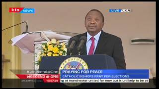 President Uhuru Kenyatta urges Kenyans to embrace peace, promises to benefit youth
