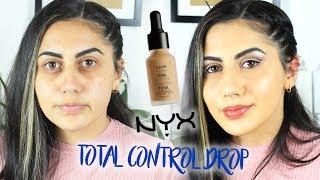 NYX Total Control Drop Fondöten |1 Ürün 5 Dakika