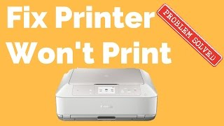 How to Fix A Printer That Wont Print