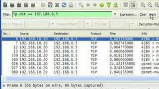 Wireshark - IP Address, TCP/UDP Port Filters