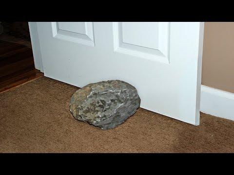 Er nutzte diesen Stein jahrelang als Türstopper, bis ihm ein Wissenschaftler die Wahrheit sagte!