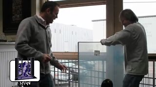 MVTV Demonstrates How to Reglaze an Andersen E-Series Window