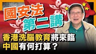 (中文字幕) 香港洗腦教育將來臨 中國有何打算國安法第二講〈蕭若元:理論蕭析〉2020-05-24