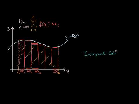 Introduction to integral calculus (video) Khan Academy